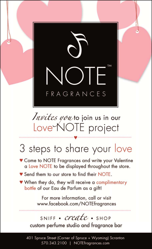 the love note project flyer